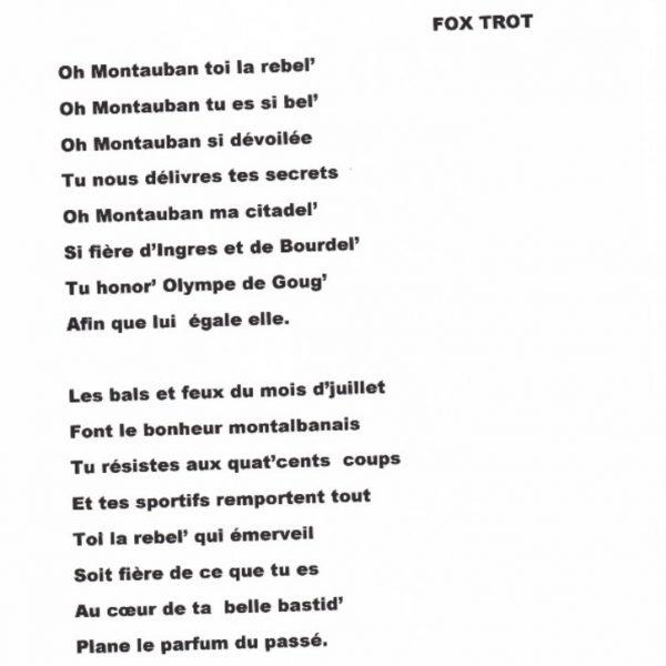 31a49b1ddcac ORCHESTRE ANDRE ALIBERT – ON NE DEVRAIT JAMAIS QUITTER MONTAUBAN-paroles